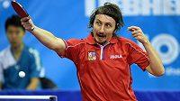 Stolní tenista Dmitrij Prokopcov ukončil reprezentační kariéru