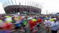 Maraton ve Varšavě má světovou úroveň za nejnižší ceny.
