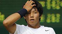 Hluchý tenista Lee Duck-hee.