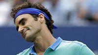 Utkání s Marinem Čiličem se od začátku nevyvíjelo podle představ Rogera Federera.