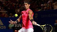 Španělský tenista Rafael Nadal na turnaji v Mexiku neměl ve druhém kole žádný problém a v pohodě postoupil.