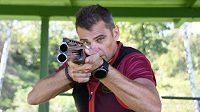 Pozor! Střílí olympijský vítěz David Kostelecký.