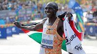 Keňský světový rekordman Geoffrey Kamworor