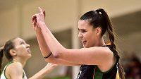 Basketbalistka Natálie Soupalová z týmu Žabiny Brno.