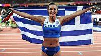 Olympijská vítězka Katerina Stefanídiová z Ŕecka bude jednou z hvězd tyčkařského klání na dálku.