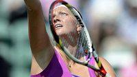 Česká tenistka Petra Kvitová na turnaji v Eastbourne.