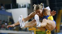 Ukrajinská pětibojařka Natalia Dobryňská