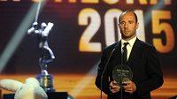 Vyhlášení výsledků ankety Zlatá hokejka 20. června v Karlových Varech. Martin Ručinský se v anketě umístil šestý.