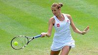 Karolína Plíšková je ve Wimbledonu ve druhém kole.