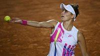 Markéta Vondroušová ve čtvrtfinále antukového turnaje v Římě porazila Elinu Svitolinovou.