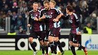 Fotbalisté FC Kodaň v utkání Ligy mistrů proti Juventusu Turín (ilustrační foto).
