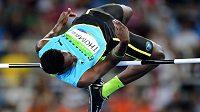 Bahamský výškař Donald Thomas v olympijském závodě v Riu - archivní snímek.