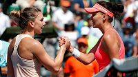 Simona Halepová a Agniezska Radwaňská jsou největšími favoritkami v anketě o nejoblíbenější tenistku.