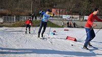 Závěrečný běh na lyžích všechno rozhodl.