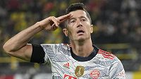 Polský fotbalista Robert Lewandowski chce dát Bayernu sbohem.