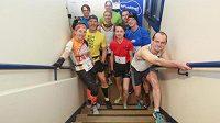 Extrémní sportovec John Schmitz vyhrál v Hannoveru vertikální maratón. Makal více než 10 hodin.(Ilustrační foto).