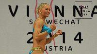 Tamara Jiříková se raduje z triumfu na mistrovství Evropy.