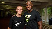 Před týdnem se Pavel Maslák potkal s legendárním Carlem Lewisem, teď přidal další rekord.