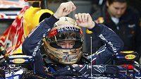 Sebastian Vettel odstartuje do Velké ceny USA z prvního místa.