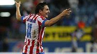 Cristiano Rodríguez se raduje z gólu v síti Plzně.