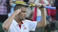 Ruský tenista Michail Južnyj by ve Wimbledonu rád prolomil černou bilanci se Švýcarem Rogerem Federerem