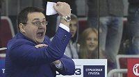 Trenér Andrej Nazarov je vyhlášený bouřlivák.