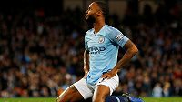 Fotbalista Manchester City Raheem Sterling.