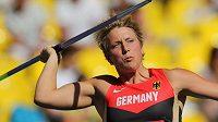 Německá oštěpařka Christina Obergföllová se chystá na mateřskou dovolenou.