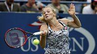 Tenistka Kateřina Siniaková na US Open.