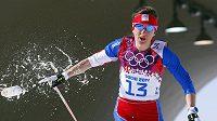 Běžkyně na lyžích Eva Vrabcová-Nývltová.