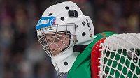 Český hokejový brankář Štěpán Maleček na Olympijských hrách mládeže v Lausanne.