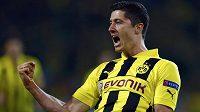 Robert Lewandowski jásá! Udeří kanonýr Dortmundu také ve finále proti Bayernu...?
