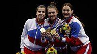 Ruské šavlistky zopakovaly na OH v Tokiu zlatý double z Ria