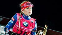 Biatlonistka Gabriela Soukalová se v letošní sezóně zatím hledá.