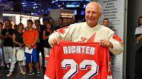 Hokejový mistr světa z roku 1985, útočník Pavel Richter.