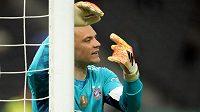 Hvězda Bayernu Mnichov a německé reprezentace Manuel Neuer.