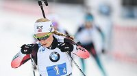 Hvězda norského biatlonového výběru Tiril Eckhoffová - ilustrační foto.