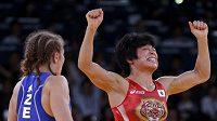 Japonská zápasnice Hitomi Obaraová vybojovala v Londýně zlato ve váze do 48 kg.