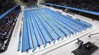 Plavecký bazén v Olympic Aquatics Centre v Londýně