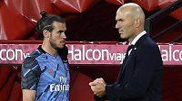 Trenér fotbalového Realu Madrid Zinédine Zidane a hvězdný fotbalista Gareth Bale nejspíš velkými přáteli nebudou.
