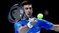 Novak Djokovič na šestý triumf na Turnaji mistrů letos nedosáhne.