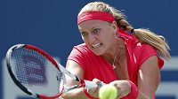 Petra Kvitová v úvodním kole US Open.