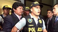 Předseda peruánského fotbalového svazu Edwin Oviedo byl zadržen kvůli podezření z korupce.