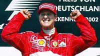 Radost Michaela Schumachera.