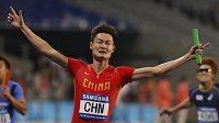Zhang Peimeng patří mezi nejlepší sprintery světa.
