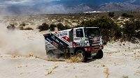 Jaroslav Valtr s tatrou při 10. etapě Rallye Dakar.