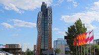Nejvyšší budova Česka. AZ Tower bude sloužit i běžcům. Tři minuty a Brno máte jako na dlani.