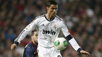 Portugalec Cristiano Ronaldo, hvězda Realu Madrid