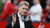 David Moyes ještě jako trenér Manchesteru United.