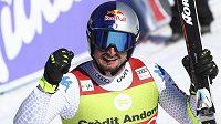 Spokojený Dominik Paris po superobřím slalomu v Soldeu.